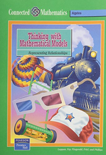 9780130530776: Thinking with Mathematical Models: Representing Relationships (Connected Mathematics)
