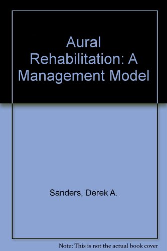 9780130532152: Aural Rehabilitation: A Management Model
