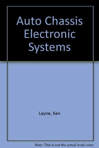 9780130532657: Auto Chassis Electronic Systems