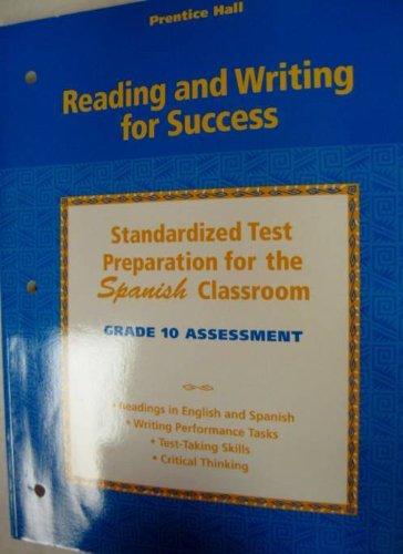 Reading And Writing For Success: Spanish Student Test Prep For Grade 10 (Spanish Edition): unknown