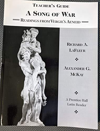 9780130534514: Teacher's Guide a Song of War (Readings From Vergil's Aeneid)
