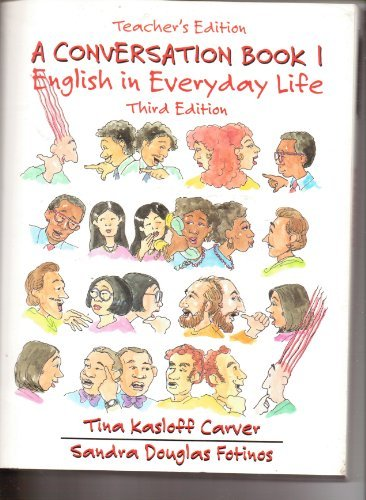 9780130537607: Conversation, Book 1: English in Everyday Life