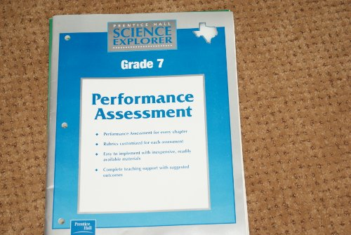9780130538048: Prentice Hall Science Explorer Grade 7 Performance Assessment Texas Edition