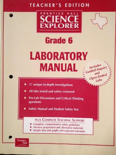 Prentice Hall Science Explorer Laboratory Manual Grade: BREAZEALE