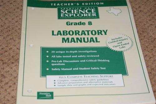 9780130538130: Prentice Hall Science Explorer Grade 6 Laboratory Manual Texas Edition