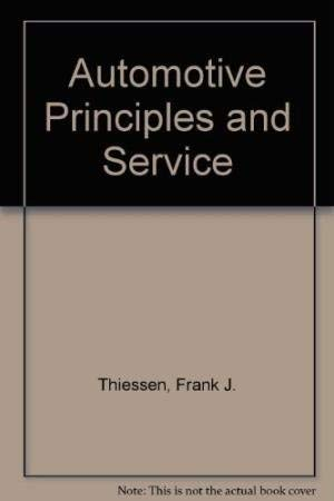 9780130539359: Automotive Principles and Service