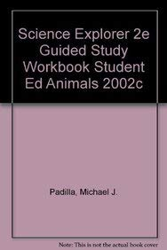 9780130542397: Science Explorer Animals Guided Reading and Study Workbook, 2nd edition
