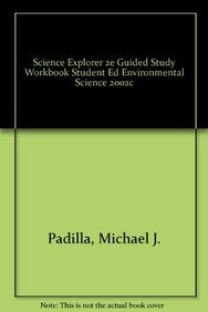 9780130542434: SCIENCE EXPLORER 2E GUIDED STUDY WORKBOOK STUDENT ED ENVIRONMENTAL      SCIENCE 2002C