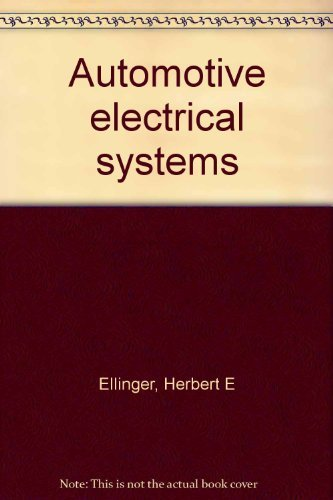 9780130542625: Automotive electrical systems