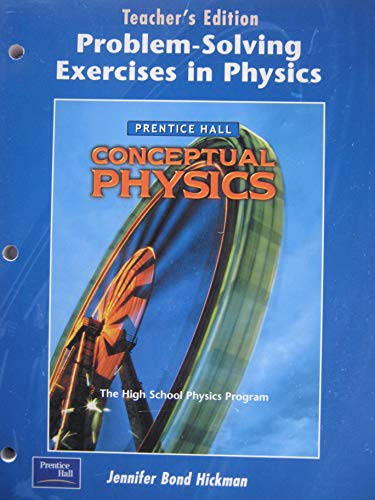 problem solving exercises in physics Problem-solving strategies: mapping and prescriptive methods while most research on physics problem solving a taxonomy of problem-solving activities and its.