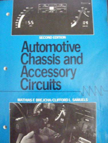 9780130544209: Automotive Chassis and Accessory Circuits