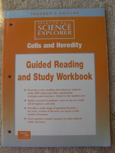 9780130544575: Teacher's Edition Cells and Heredity Guided Reading and Study Workbook (Prentice Hall Science Explorer)