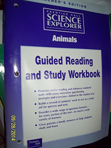 9780130544599: Teacher's Edition Environmental Science Guided Reading and Study Workbook (Prentice Hall Science Explorer)
