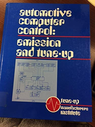 9780130547279: Automotive Computer Control: Emission and Tune-up