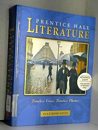 9780130547903: PRENTICE HALL LITERATURE TIMELESS VOICES TIMELESS THEMES 7TH SE GR 10 2002C