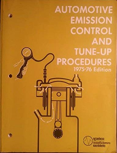 9780130548092: Automotive Emission Control and Tune-Up Procedures