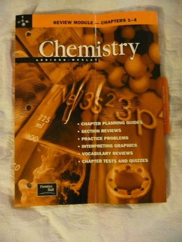 9780130548498: Addison-Wesley Chemistry Review Module--Chapters 1-4