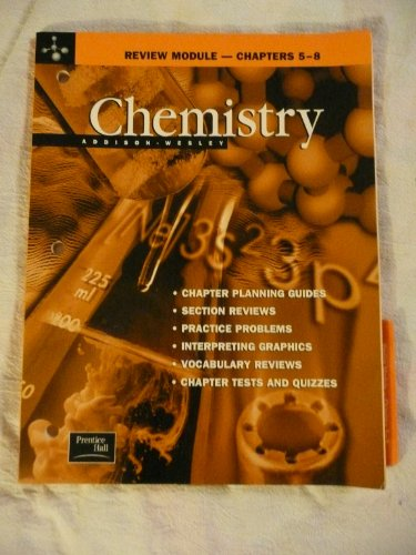 9780130548504: Chemistry Review Module--Chapters 5-8