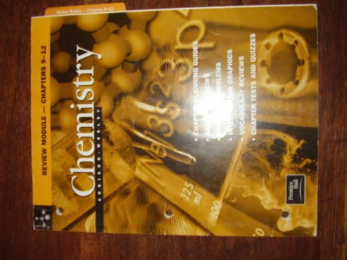 Addison Wesley Chemistry Review Module--Chapters 9-12