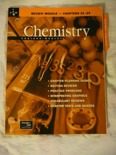 9780130548542: Chemistry Review Module--Chapters 21-24