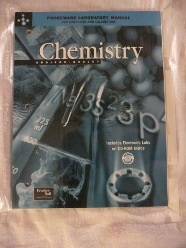 9780130548689: ADDISON WESLEY CHEMISTRY 5TH EDITION PROBEWARE LAB MANUAL WITH CD-ROM 2002C