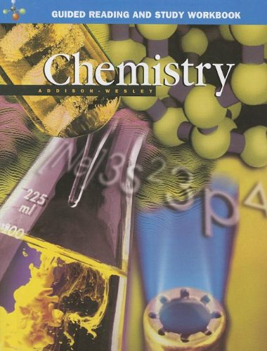 9780130548696: ADDISON WESLEY CHEMISTRY 5TH EDITION GUIDED STUDY WORKSHEETS SE 2002C
