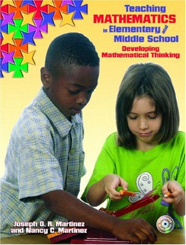 9780130549785: Teaching Mathematics in Elementary and Middle School: Developing Mathematical Thinking