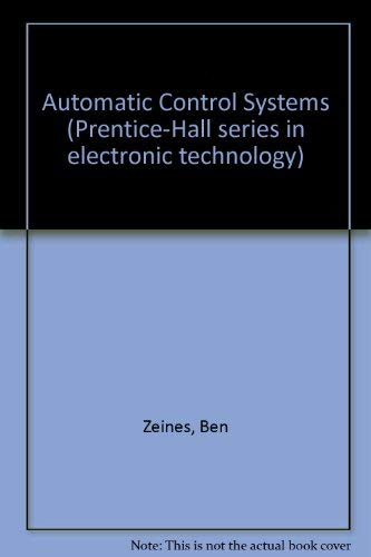 Automatic Control Systems: Zeines, Ben