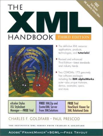 9780130550682: The XML Handbook (3rd Edition)