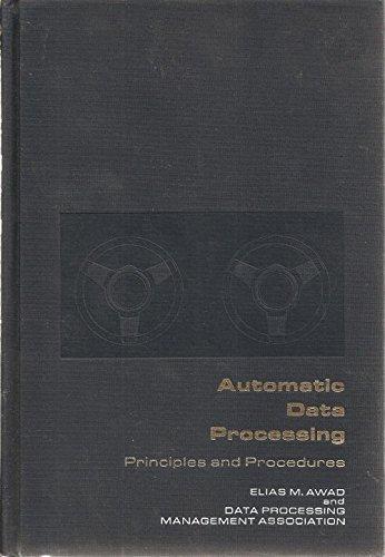 9780130554185: Automatic Data Processing: Principles & Procedures