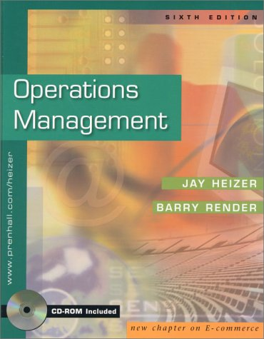 9780130555038: Operations Management and Interactive CD