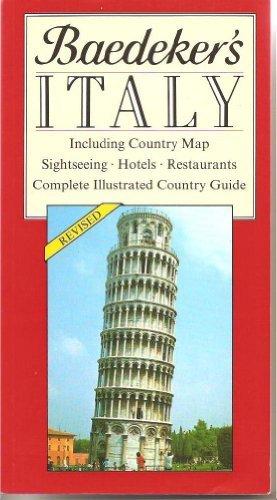 9780130558978: Baedeker's Italy