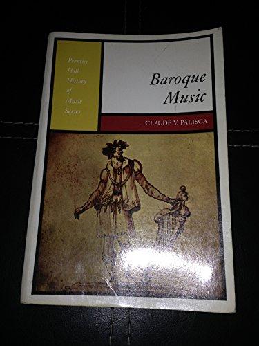 9780130559623: Baroque Music