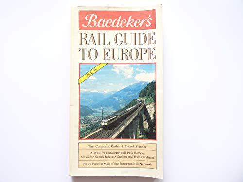 Baedeker Rail Guide to Europe: Jarrold Press
