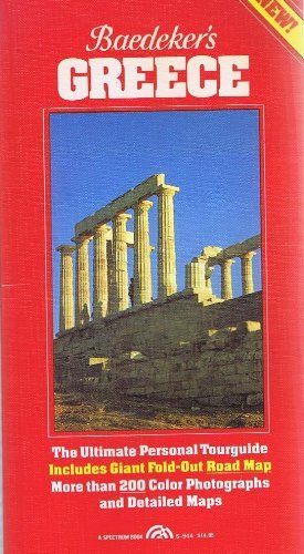9780130560025: Baedeker's / AA Greece - The Complete Illustrated City Guide - Including Free Map
