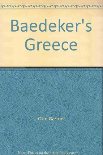 9780130560100: Baedeker's Greece