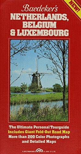 9780130560285: Baedeker's Netherlands, Belgium, & Luxembourg