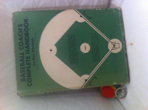 9780130562678: Baseball coach's complete handbook
