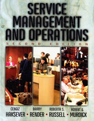 9780130563446: Service Management and Operations