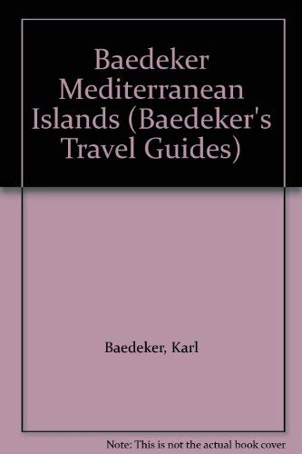 9780130568625: Mediterranean Islands Baedeker (Baedeker's Travel Guides)