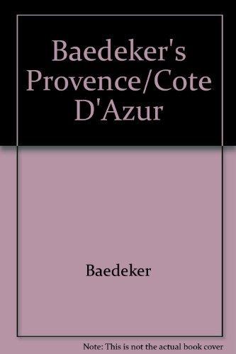 9780130569387: Baedeker's Provence/Cote D'Azur