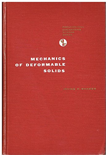 9780130570857: Mechanics of Deformable Solids