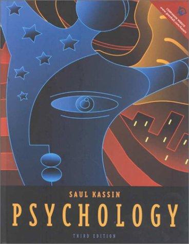 Psychology: Saul M. Kassin