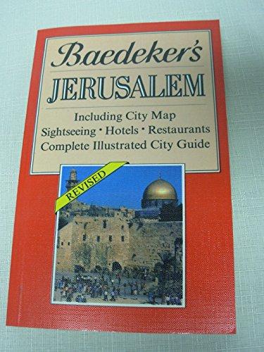 9780130580177: Baedeker'S Jerusalem (Baedeker's City Guides)