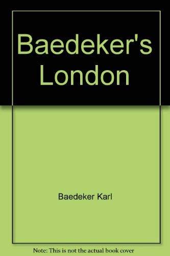 9780130580252: Baedeker's London