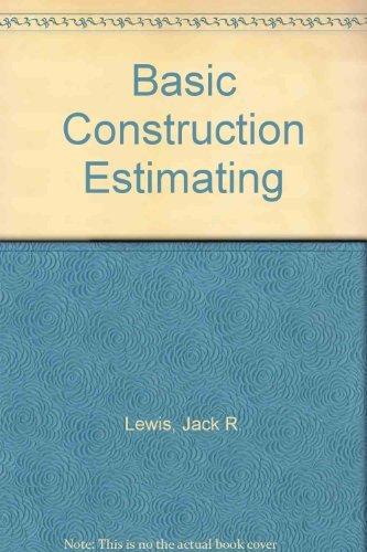 9780130583130: Basic Construction Estimating