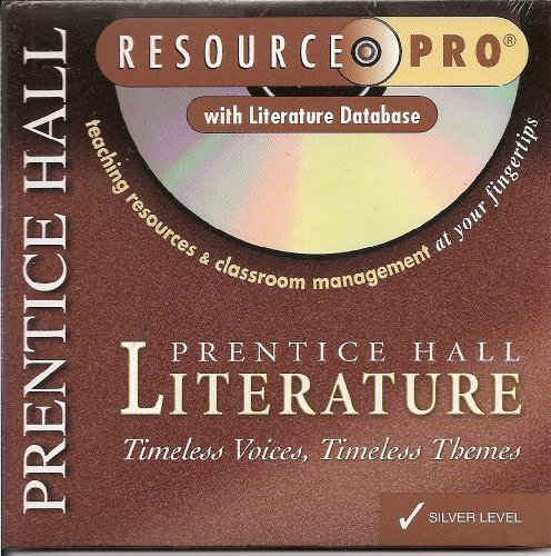 9780130583192: Prentice Hall Literature Resource Pro with Literature Database