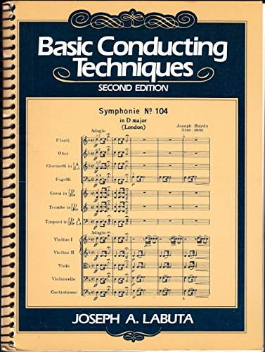 9780130583222: Basic Conducting Techniques
