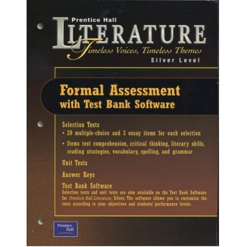 9780130583772: Timeless Voices, Timeless Themes: Silver Level [Formal Assessment with Test Bank Software]