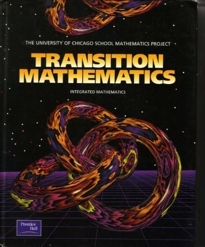 9780130584144: Transition Mathematics (University of Chicago School Mathematics Project)